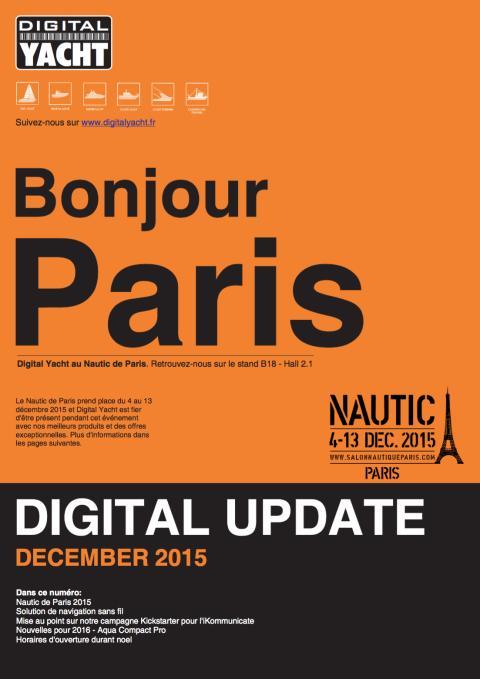Digital Yacht - soirée des équipementiers au Nautic