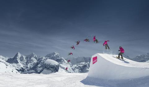 Snowpark Schilthorn