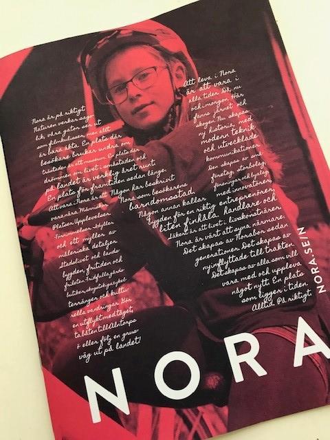 N som i Nora - nytt platsvarumärke som många står bakom