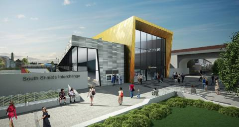 South Shields Interchange opens on 4 August