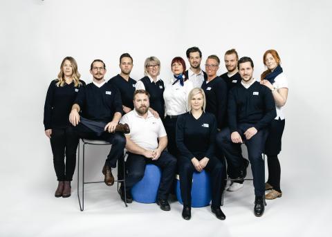 Operatörerna i SOS Sverige. Foto: Margareta Bloom Sandebäck / Kanal 5 och Dplay