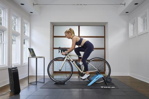 Never Stop Cycling – Garmin stellt Tacx Boost Indoor-Trainer vor