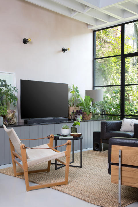 Living Room style with Sony ZF9 Soundbar 2a