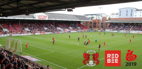 Join Red Bee Media for a real-time end-to-end demonstration of software defined 4K remote production, playout and ultra-low latency OTT with social media syndication delivered from Leyton Orient FC in London to IBC2019