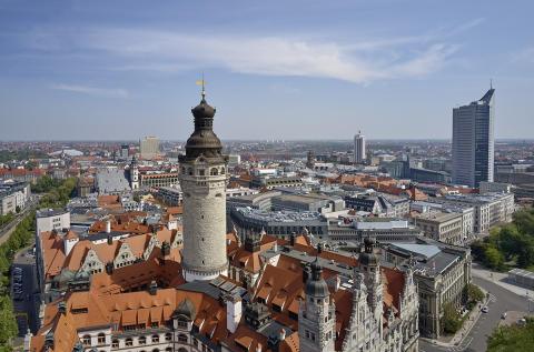 Imposante Leipzig-Aufnahmen aus der Vogelperspektive