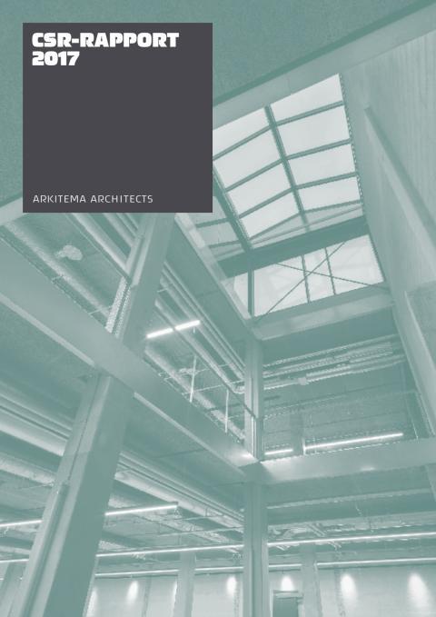Arkitema Architects - Hållbarhetsrapport 2017