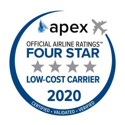 Norwegian Air Named Four-Star Low-Cost Airline by APEX for Two Consecutive Years