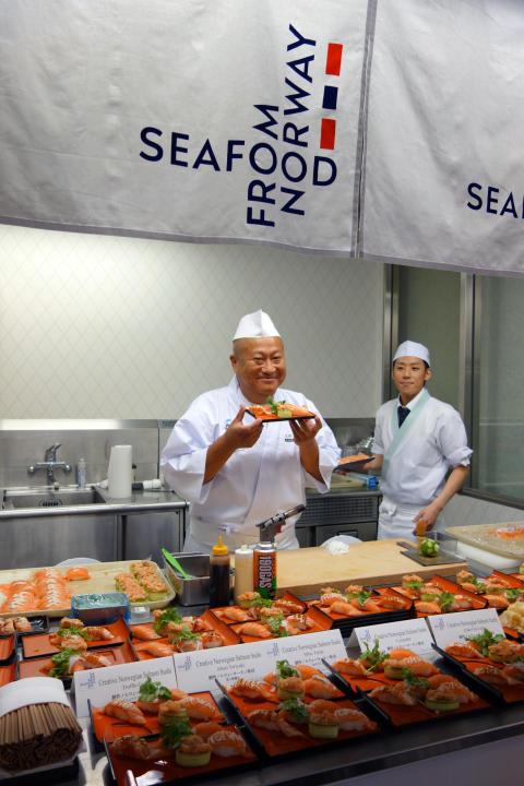 Tett samarbeid viktig for vellykket laksekampanje i Japan