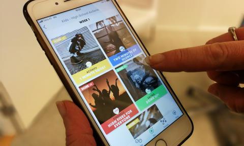 OnniWay-mobiilisovellus panee lapset liikkeelle koulupäivän aikana