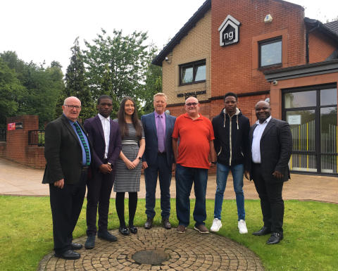 ng homes and African Challenge Scotland strengthen their partnership with enhanced Work Experience Programme in North Glasgow