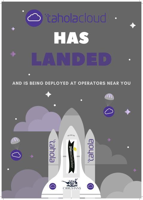 TaholaCloud has landed......