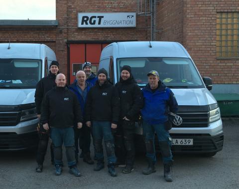 Återvinning största vinsten för RGT Bygg