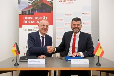 Dauerhafte Kooperation mit Universität Bremen besiegelt