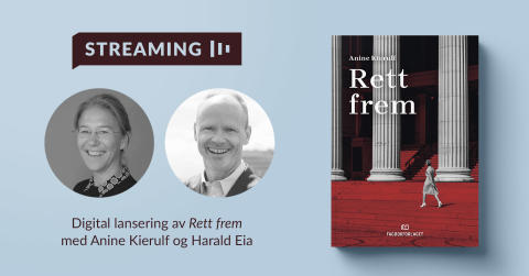 Ny bok av Anine Kierulf lanseres tirsdag