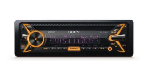 Amplifica tu viaje: Sony MEX-XB100BT, con el primer amplificador digital interno de 4 x 100 W del mundo. Una experiencia sonora totalmente nueva en tu coche