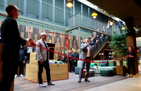 Stockholm's newest hotel, Downtown Camper, invokes the spirit of adventure and sustainable living