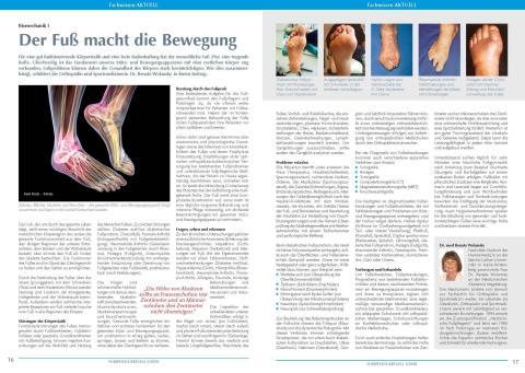 Biomechanik: Der Fuß macht die Bewegung