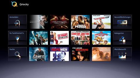 Screenshot_Qriocity von Sony