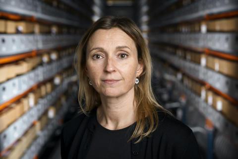 Rigsarkivar Anne-Sofie Jensen