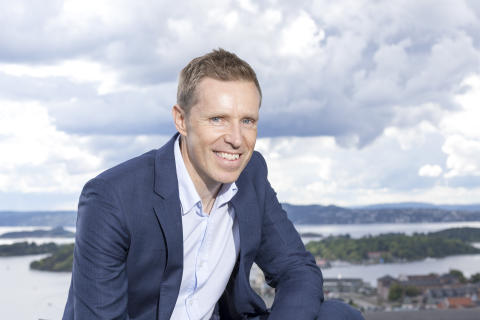 BRED HORISONT. Eirik Haslestad har lang erfaring både fra Luftforsvaret og konsulentverden.