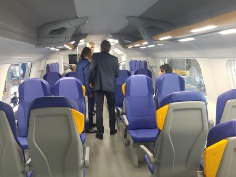 Hitachi Rail Italy presents its new Rock train