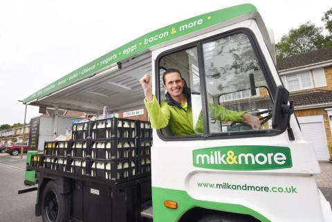 Camberley milkman is milk&more Milkman of the Year