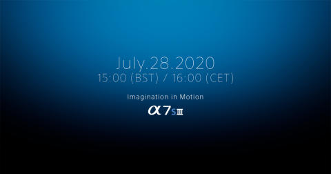 A7SIII announcement programme