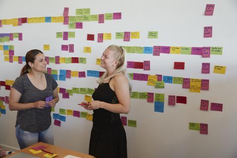 Elev-initierede projekter skal styrke studiemiljøet på NEXT Business i Ballerup