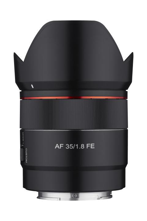 Samyang AF 35mm F1.8 FE Product Image 03  - Front