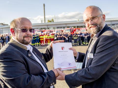 Ernennung von Holger Lampe zum Ersten Beigeordneten
