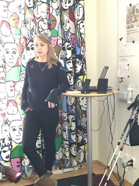 Startskottet på idé-och affärsutveckling för och med studenter på Handelshögskolan, Örebro universitet