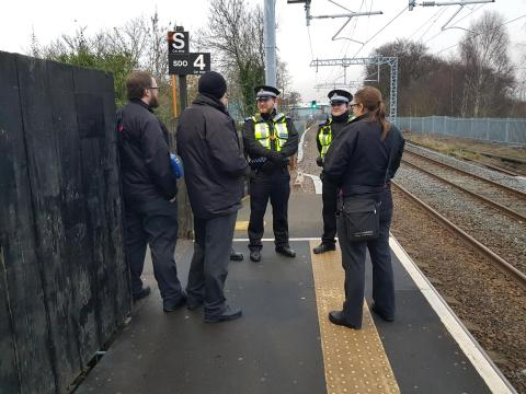 West Midlands Railway clamps down on ticketless travel and antisocial behaviour on the Chase line