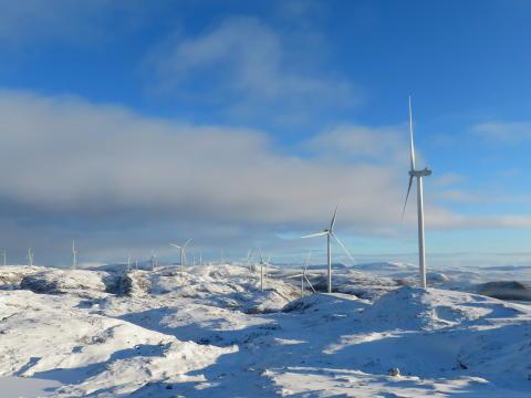 Fra utbygging til drift for Norges største vindkraftverk