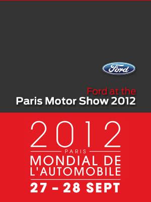 Ford strävar efter att presentera flest nyheter i branschen de kommande fem åren – nya Mondeo, Fiesta, EcoSport och Tourneo Connect premiärvisas i Paris