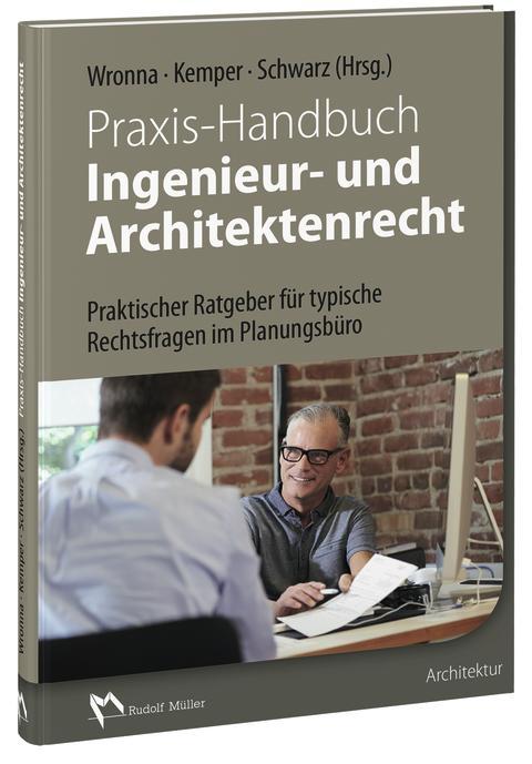 Praxis-Handbuch Ingenieur- und Architektenrecht (3D/tif)