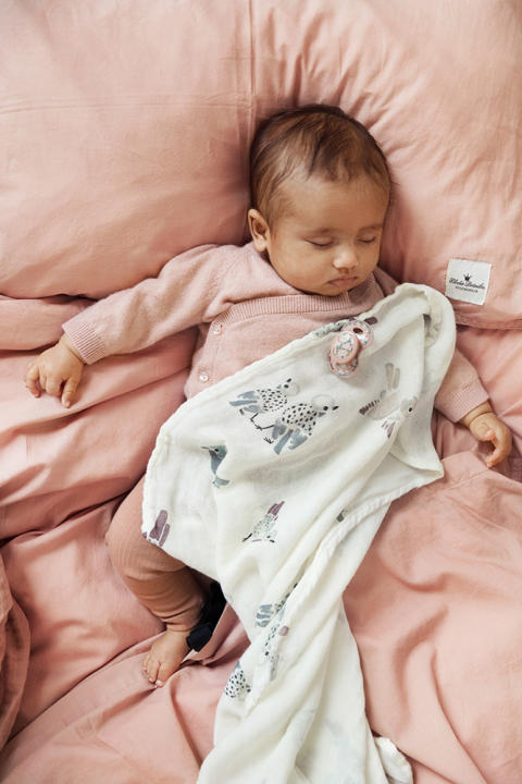 Elodie Details SS19 - Crib Bedding Set Faded Rose
