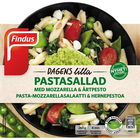 Findus Dagens Lilla – Unikt koncept med lagade matiga sallader i frysdisken