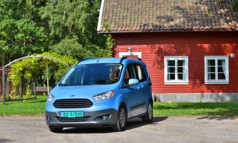 Nye Ford Transit Courier, norges minste og rimeligste varebil har skapt stor etterspørsel på det norske markedet