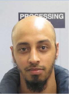 Appeal to trace absconder – HMP Springhill