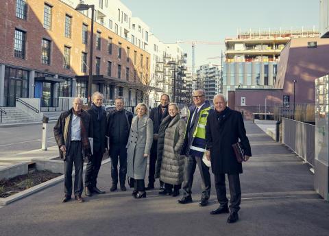 Isabella Alveberg og Arne Vannebo nye styremedlemmer i Höegh Eiendom.
