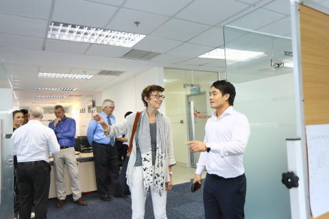 The Norwegian Embassy visiting Trainor Vietnam