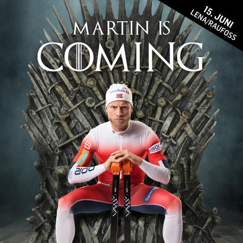 MARTIN IS COMING - KOMMER DU?