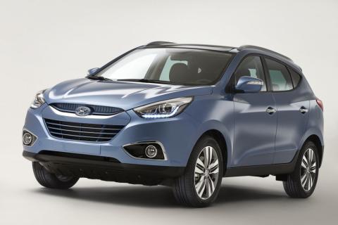 Hyundai viser ny ix35 i Genève
