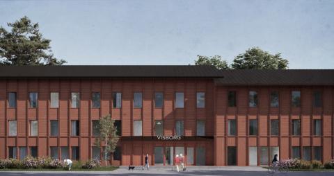 Attendo planerar nytt äldreboende i Visby