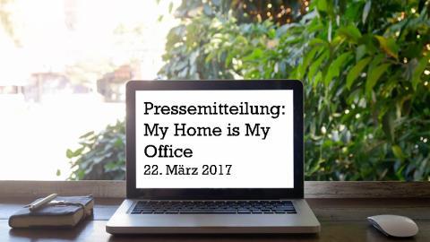 My Home is my Office: 85 Prozent der Arbeitnehmer wünschen sich mehr Flexibilität bei der Arbeitsgestaltung.