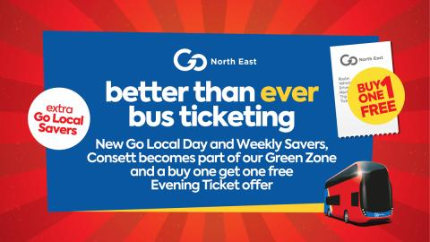 Go North East launches new, better than ever bus ticketing initiatives