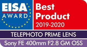 EISA-Award-Sony-FE-400mm-F2