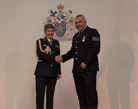 Sgt Matt Ratana & Commissioner