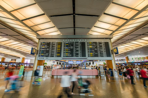 Changi Airport's iconic flight information display flip board to become part of Singapore's National Collection