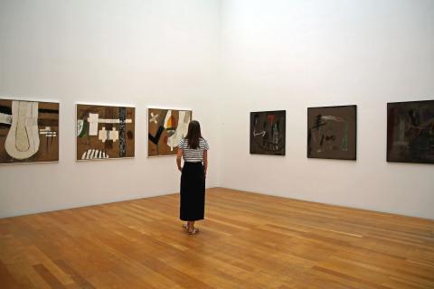 Museum der bildenden Künste - Werke von Gil Schlesinger